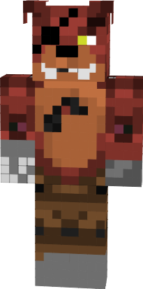 Five Nights At Freddy S Withered Foxy Nova Skin