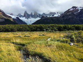 Photo: This is what Dan saw (Fitz Roy  never showed its face)