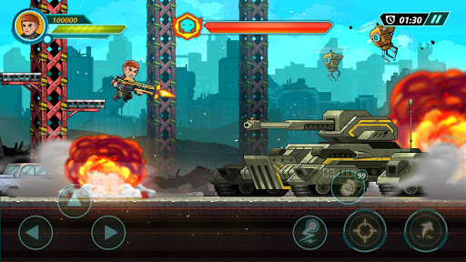 Phantom Squad: Metal Shooter Soldier 1.1 screenshots 1