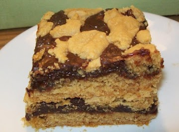 Peanut Butter Fudgy Brownies Recipe