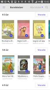 Nextory, e-böcker & ljudböcker - náhled
