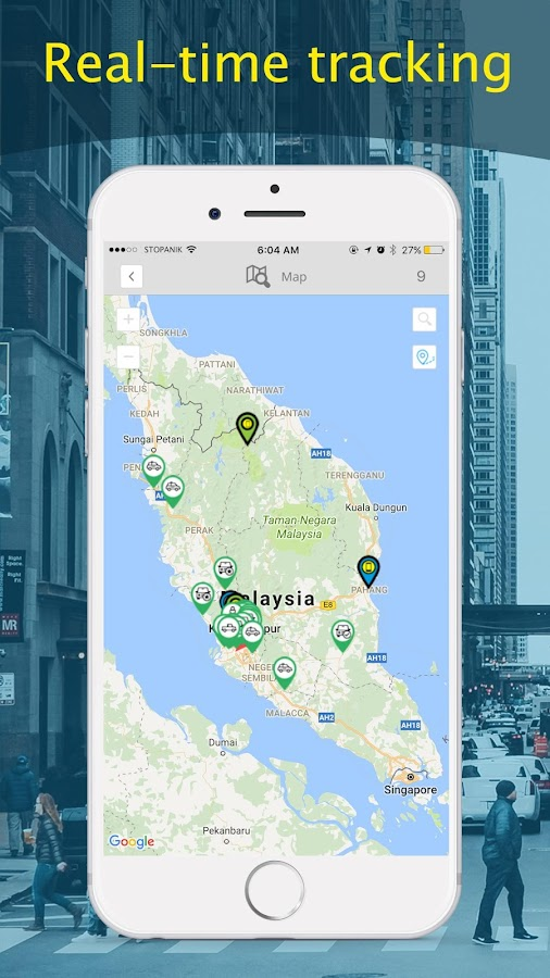 GPS Tracking System- screenshot