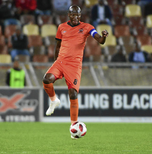 Polokwane City's Jabu Maluleke is determined to help his side reach win a cup. / BackpagePix