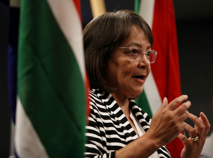 Former Cape Town mayor Patricia de Lille announced that she is launching a new party to contest the 2019 elections, November 18 2018. Picture: ESA ALEXANDER/SUNDAYTIMES