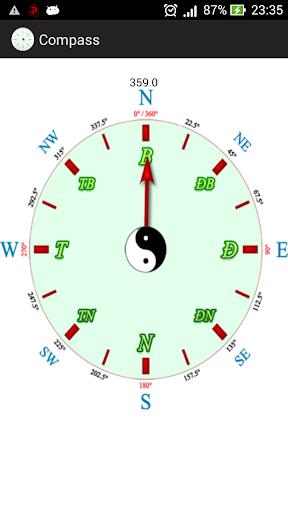 Compass La Ban LaBàn Chỉ Hướng