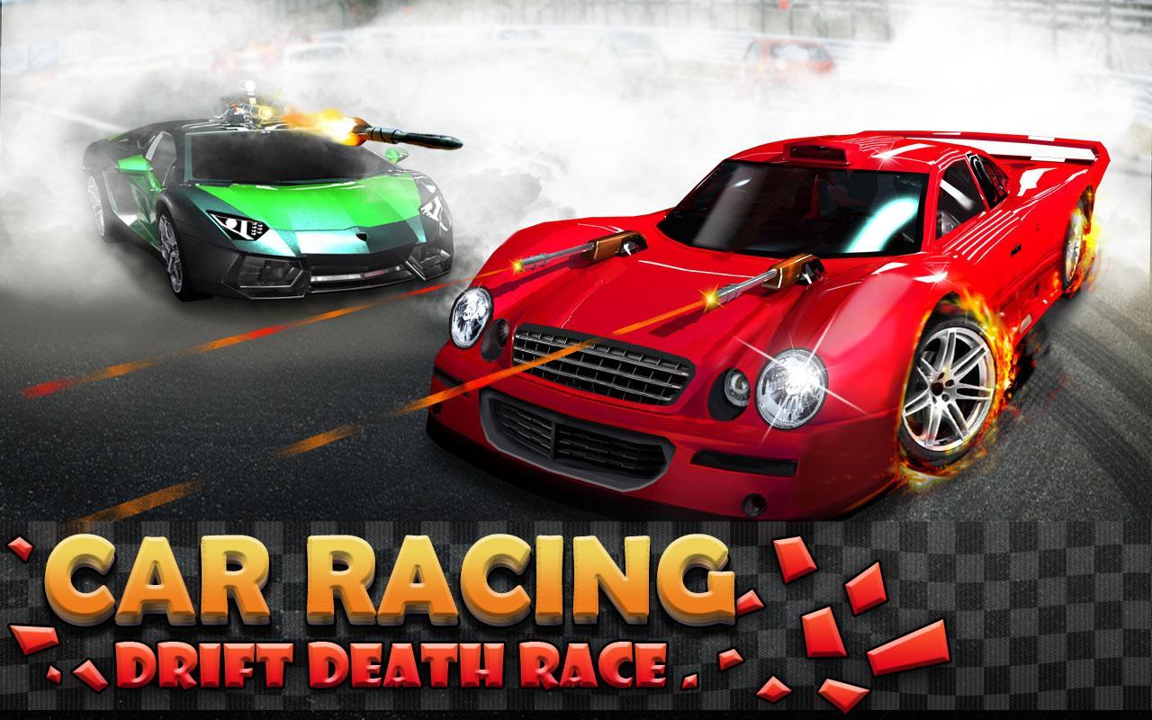 car racing drift death race screenshot