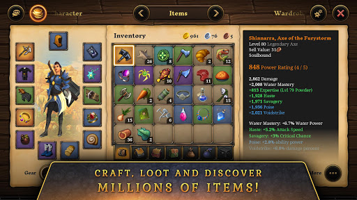 3D MMO Villagers & Heroes 4.42.11 (r54156) screenshots 5
