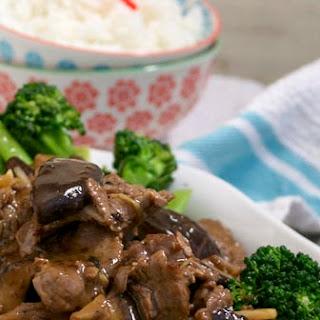 BEEF and SHITAKE MUSHROOMS on TENDERSTEM BROCCOLI Recipe