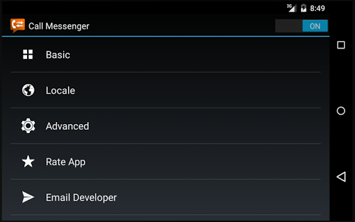 Call Messenger Lite 1.0.0 screenshots 6