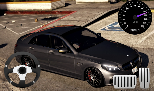 Parking Mercedes C63 AMG City Drive 1.0 screenshots 1