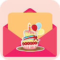 Carte d'anniversaire Maker icon