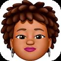 Memoji Black People Stickers for WhatsApp icon