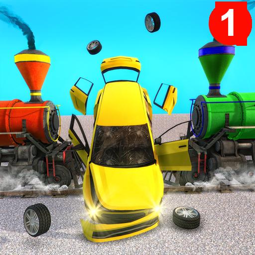 Train Derby Demolition - Car Destruction Simulator Android APK Download Free By Gamez.io
