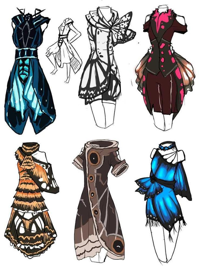 Fashion design sketches android apps on google play for Blueprint sketch app