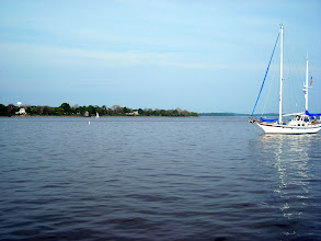 Photo: View of the Susquehanna Riverfrom the Lantern Queen dock.
