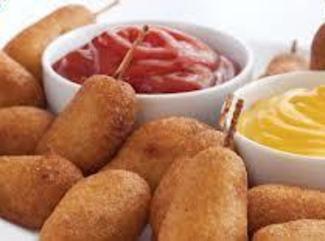 Corn Dog Puppies (appetizer) Recipe