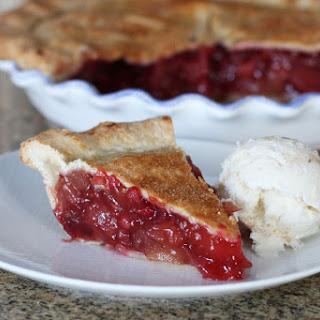 Easy Apple Cranberry Pie.