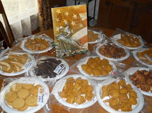 Here Is Several Batches Of A Variety Of Cookies Including Burke's Soft Cake Mix Cookies.  We Take Dozens At A Time To The Va Hospitals Each Year.