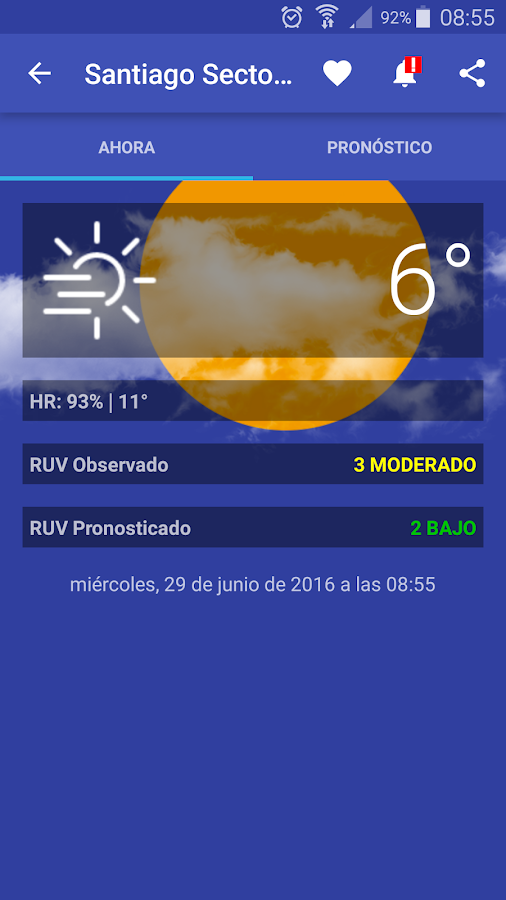 Meteorología Chile- screenshot