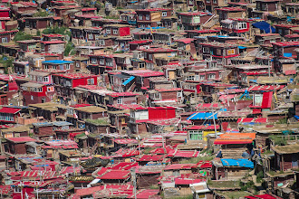 Photo: Huts, in all sizes and shapes.