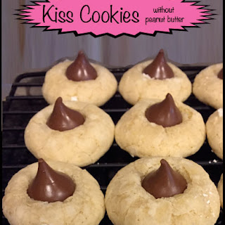 Sugar Cookie With Hershey Kiss Without Peanut Butter Recipes.