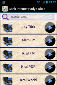 Canlı İnternet Radyo Dinle screenshot 0