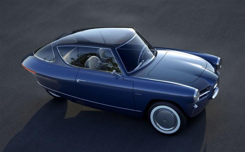 Un vehículo con mucha inspiración vintage es el Nobe 100
