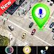 GPS衛星ルートマップと音声ナビゲーション方向、東京日本地球地図と交通情報をナビゲート