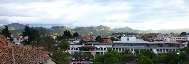 Photo: Cuenca, University in foreground