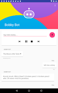 Bobby Bot: Voice Assistant for Kids & Parents (Unreleased)- screenshot thumbnail