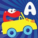 Alphabet car game for kids
