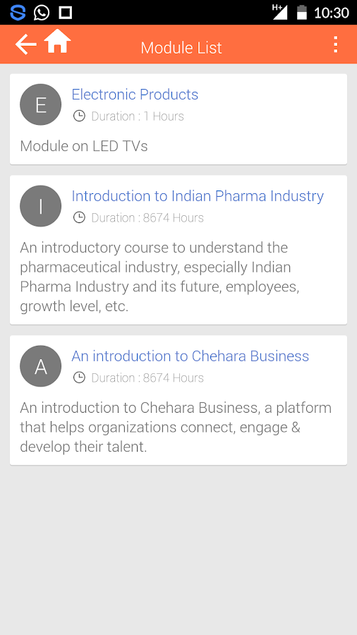 Chehara Business- screenshot