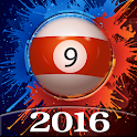 Pool 2016 - billiard ball icon