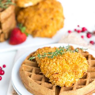 Healthier Chicken & Waffles.