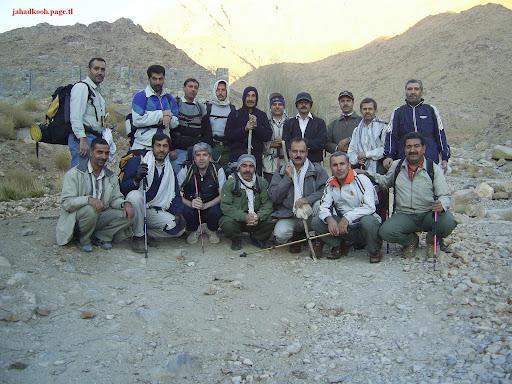 گروه کوهنوردی جهاد - شیر کوه یزد