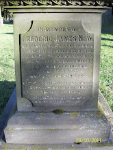 Photo: 29-(W) Frederick James New, eleven years clerk in locomotive department of Great Western Railway at Swindon, accidentally killed walking on the line, February 19th 1878, aged 34 years, erected by officials and fellow clerks at Swindon as a tribute of respect