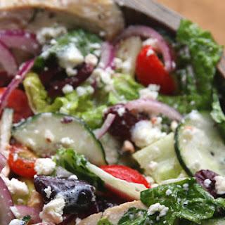 1. Healthy Mediterranean Salad