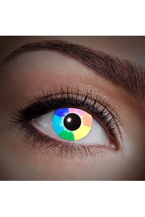 Färglinser, UV Regnbåge