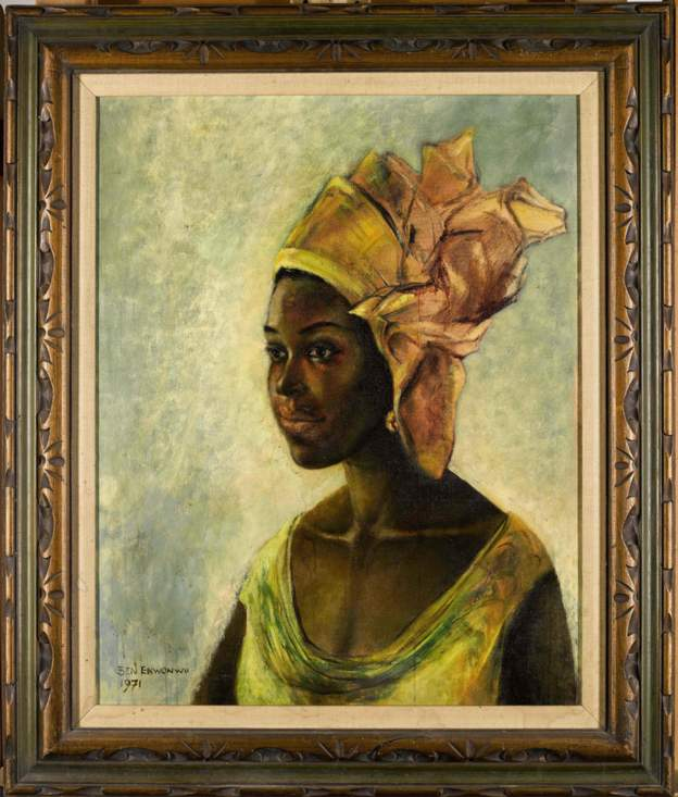The artwork that sold for Sh140 million.