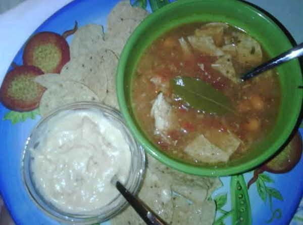 Queso Blanco And Chicken Tortilla Soup