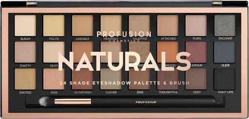 SOM PROFUSSION EYESHADOW PALETTE NATURAL