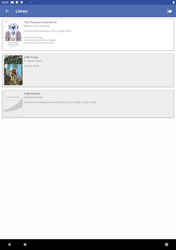 Evie - The eVoice book reader 4.1.2 screenshots 12