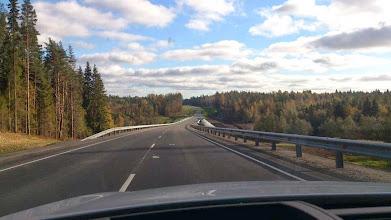Photo: 185 км За Кузнечным. Участок новой дороги