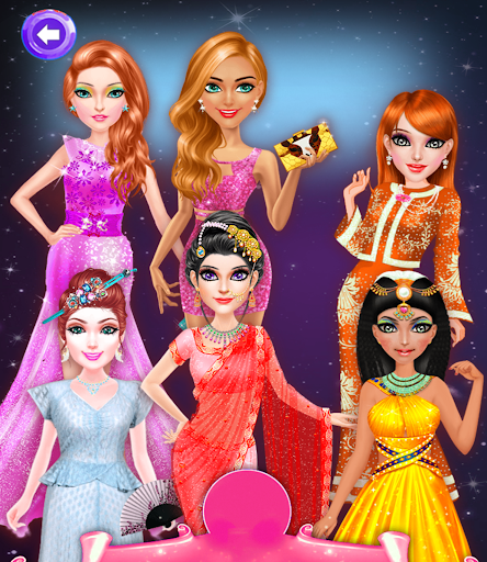 Beauty Salon Around The World - Game for Teen 13+  screenshots 2