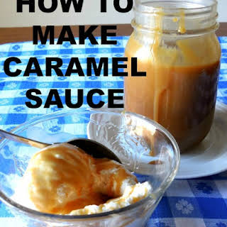 HOW TO MAKE CARAMEL SAUCE.
