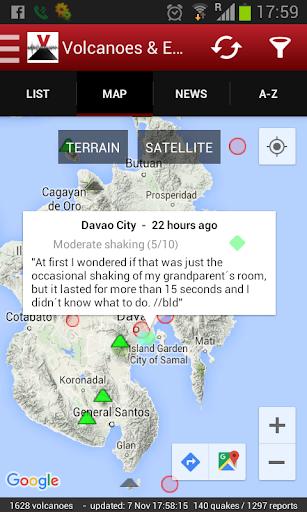 Volcanoes Earthquakes UPGRADE