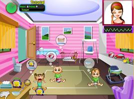 Screenshot of Super Nanny, Baby Care Game
