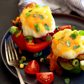 Southwest Skillet Stuffed Peppers Recipe