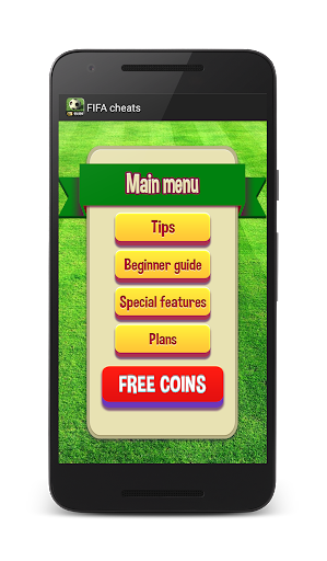 Cheats for FIFA mobile for PC