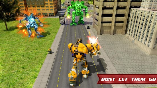 Autobots Robot Car War - náhled